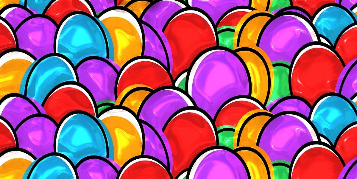 Яйца, окрашивание