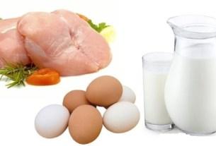 Курица, молоко
