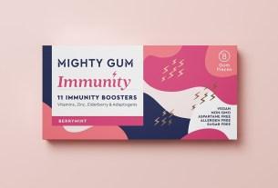 Mighty Gum,США,жевачка