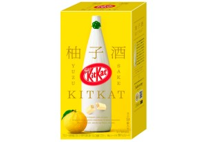 Kit Kat,Nestle Japan,сакэ,Yuzu