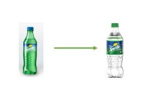 Sprite, бутылка