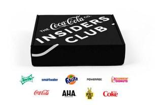 Insiders Club,Coca-Cola, Sprite, Fanta, Powerade, AHA, Smartwater,