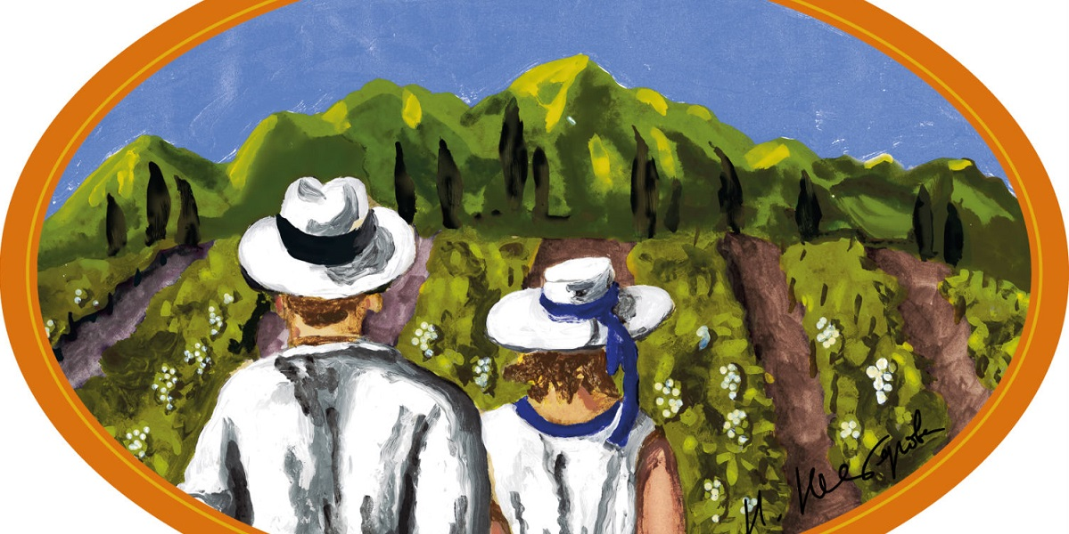 Вино, виноград, Наталья Нестерова, живопись, лимитированная коллекция, брют, Абрау Дюрсо