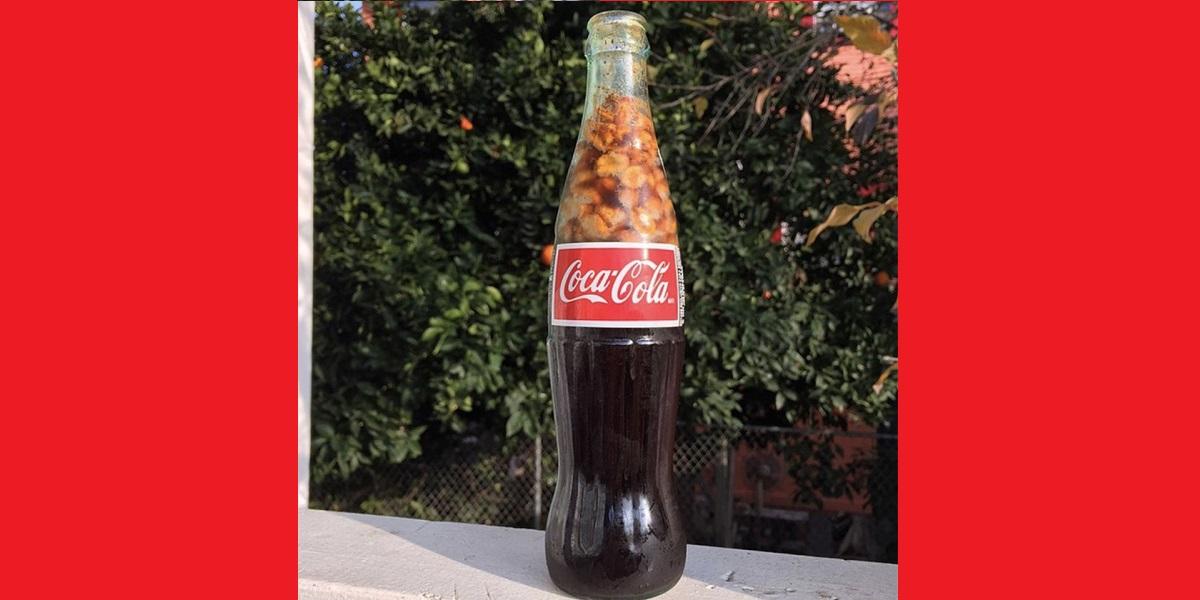 Coca-Cola,орехи,арахис,солёный арахис,США,арахис в Coca-Cola