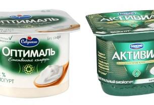 «Данон Россия», «Савушкин продукт»,«Активиа», биойогурт