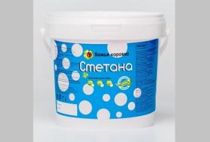 «Кубаньмолоко», сметану 20% ТМ «Божья коровка», производитель ООО ПК «Айсберг-Плюс», сорбиновая кислота