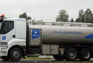 Valio, экология, молоковоз, газ из навоза