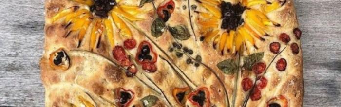 Vineyard Baker, хлеб, Подсолнухи, Ван Гог, США