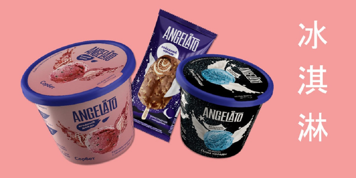 «КОМОС ГРУПП», Angelato, Китай, мороженое, Ангелато