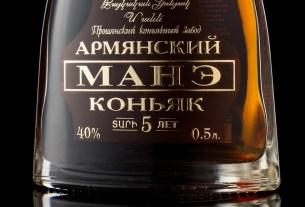 коньяк Манэ, армянский коньяк, Прошянский коньячный завод