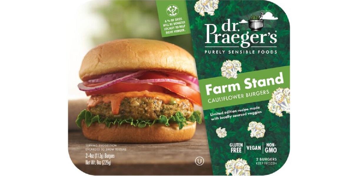 Farm Stand Cauliflower, бургер из цветной капусты