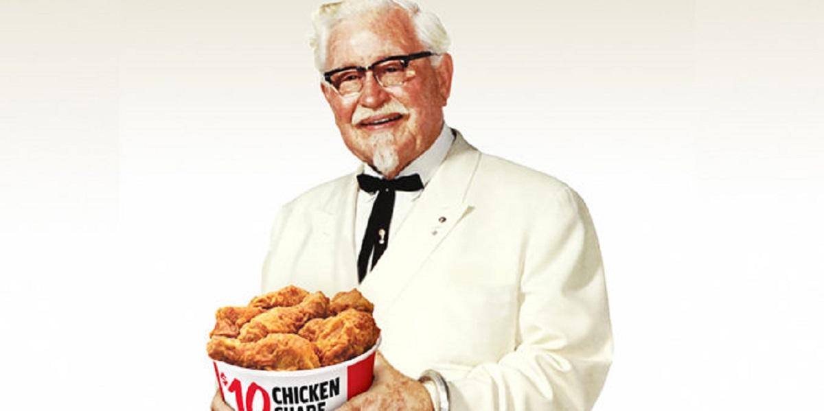 KFC, Kentucky Fried Chicken, курочка KFC, Харланд Сандерс,