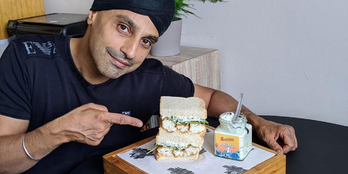 Рик Панесар, Лондон, идеальный сэндвич, рыбные палочки
