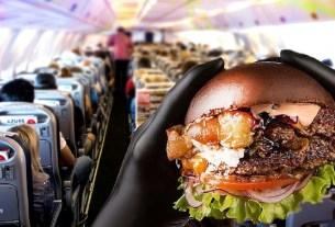 Azur Air, Black Star Burger, Тимати, Бургер Ким Ки Дук,