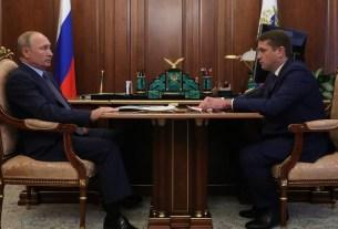 Владимир Путин, Илья Шестаков, Росрыболовство,
