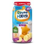«ФрутоНяня», пюре, банан–печенье–йогурт, детское питание