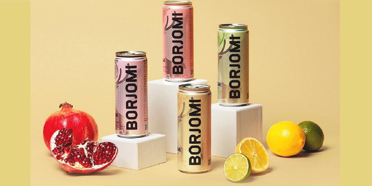 IDS Borjomi Russia, фруктовая Borjomi, 4 новых вкуса