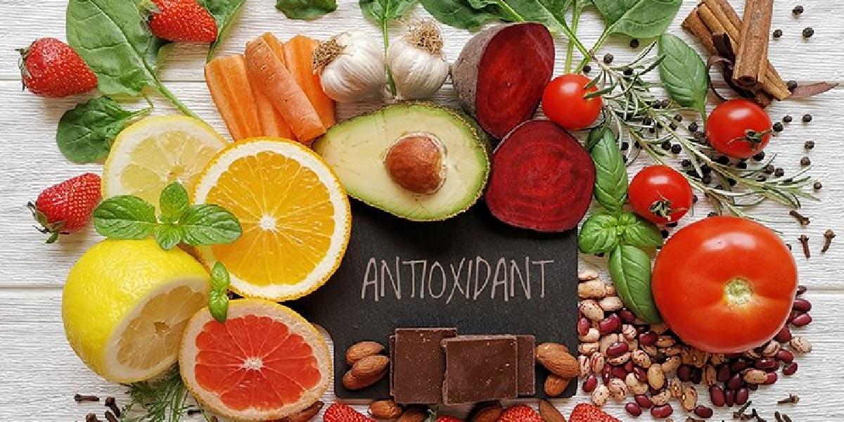 Антиоксидант, продукты