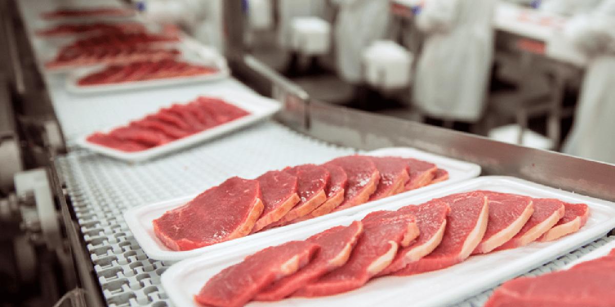 Мясо, поддоны, гигиена