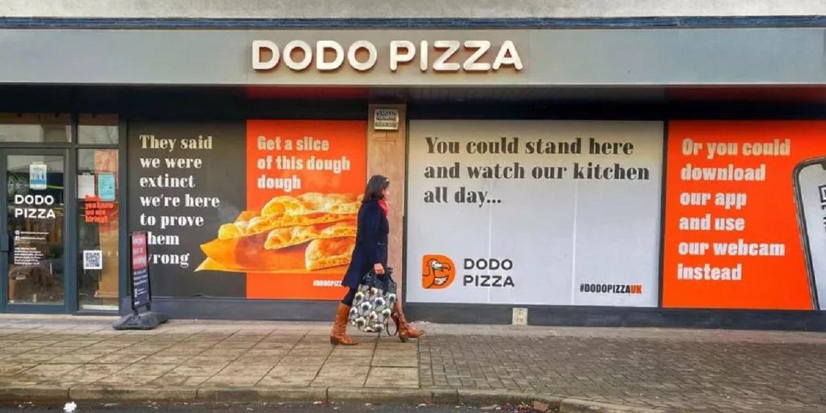 «Додо Пицца», фаст-гурмэ, Великобритания
