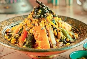 Арабское блюдо, кускус, нематериальное наследие ЮНЕСКО