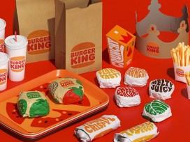 Burger King, дизайн 1969 года, новая-старая