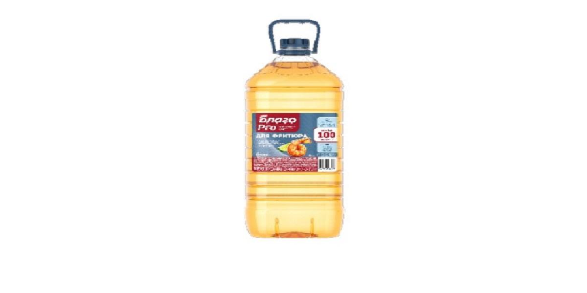 «Благо PRO», фритюрное масло, 100 циклов жарки