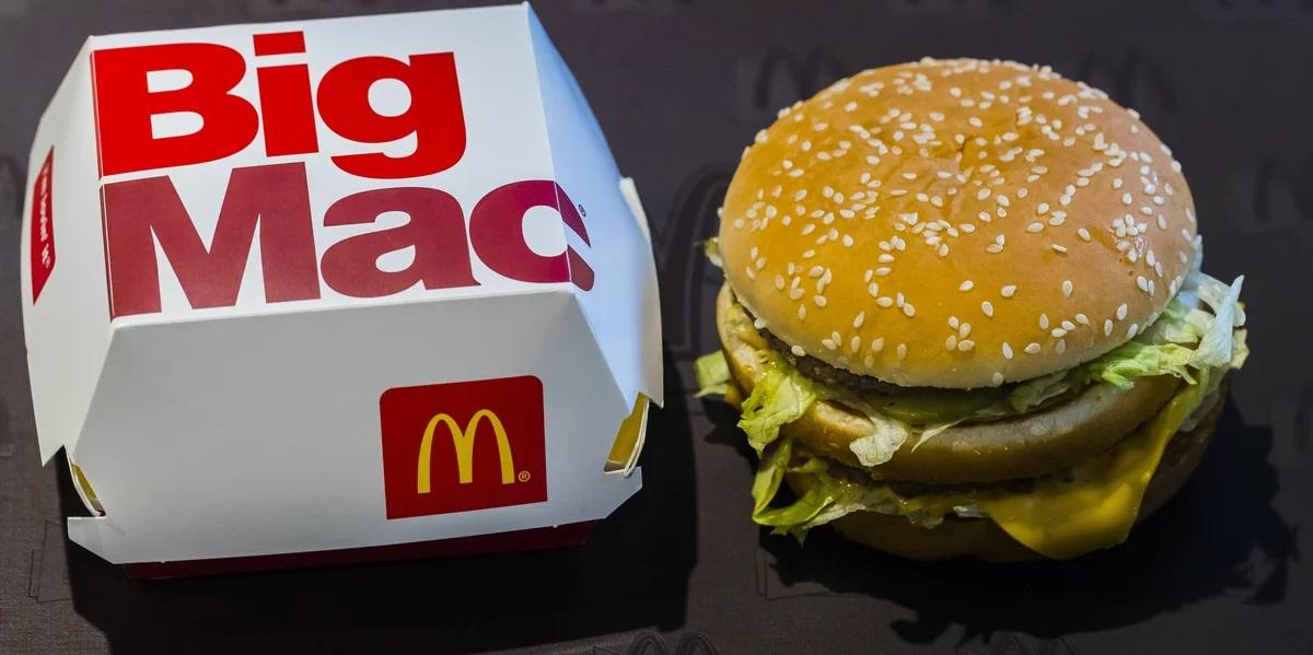 «Макдоналдс» в «Пятерочка», бигмак в «Пятерочка»