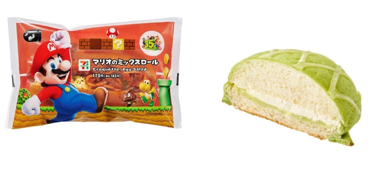 7-11, Nintendo, Super Mario Bros, лотерея, Япония, пирожные