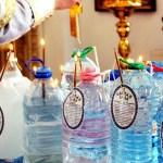 Святая вода, Крещение
