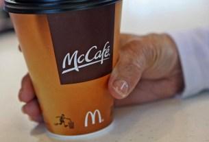 «Макдоналдс», Маккафе, растительное молоко, Великий пост, миндальное молоко