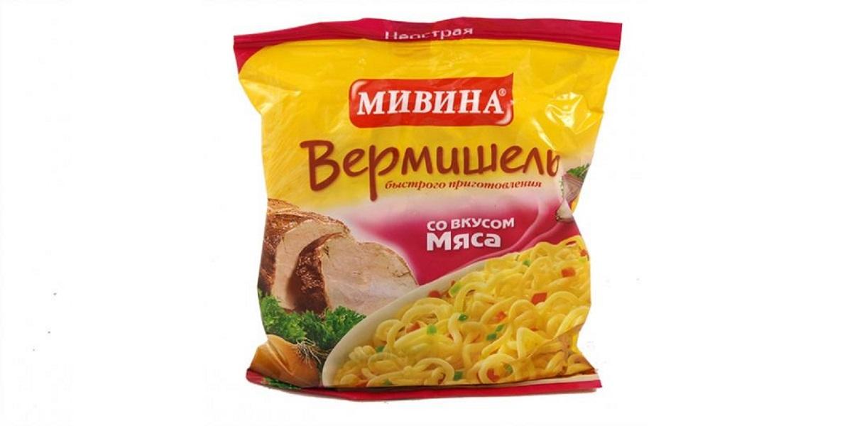 «Мивина», лапша «Мивина», без пальмового масла, подсолнечное масло