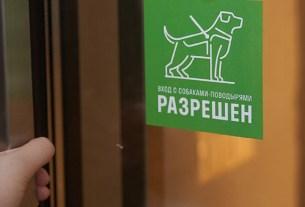 Cofix, Екатеринбург, Нижний Новгород, «Вход с собаками-поводырями разрешён», Guide Dog Friendly