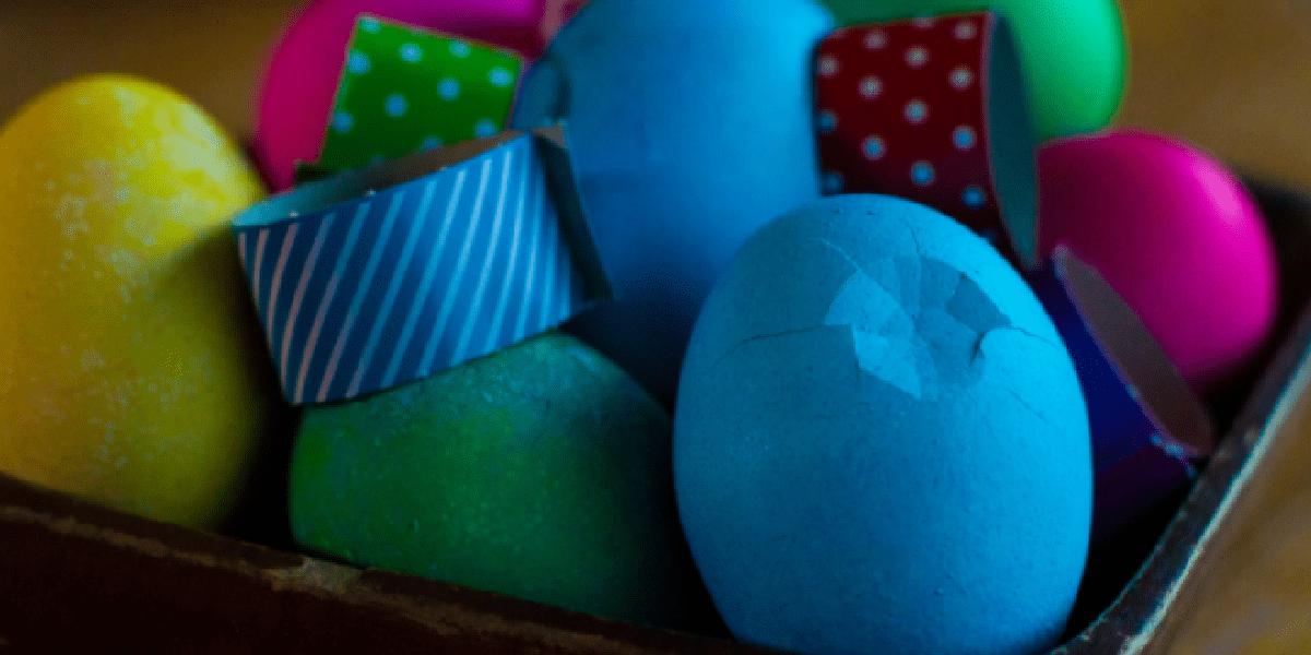 Яйца, Пасха, трещина