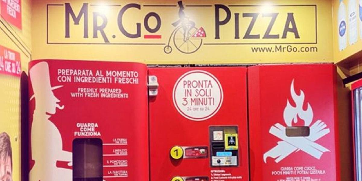 Mr.Go.Pizza, пиццамат, автомат, пицца, Италия