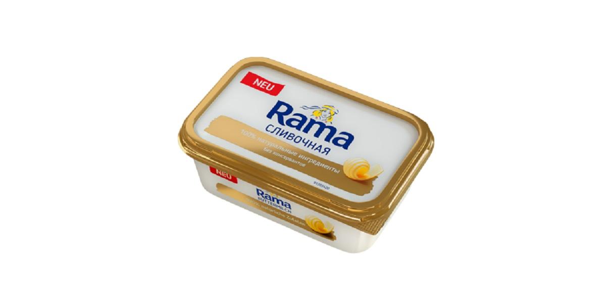 RAMA сливочная, маргарин из 90-х, маргарин Рама