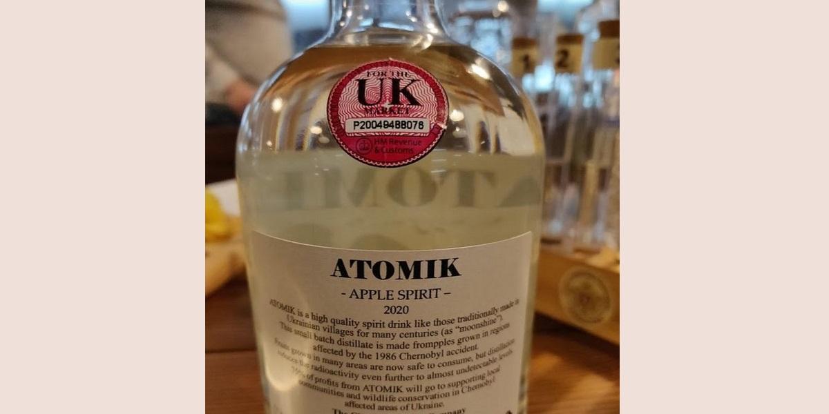 «Атомик», чернобыльская водка, Chernobyl Spirit Company, Atomik