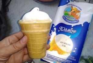 «Коровка из Кореновки», мороженое в стаканчике, американцы любят