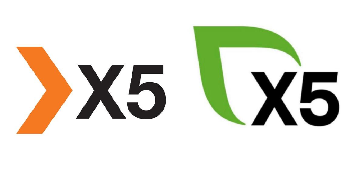 X5 Group, зеленый X5 Group, новый лого X5 Group