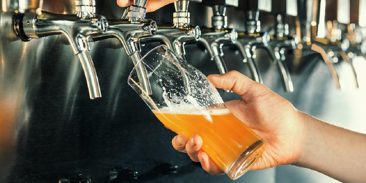 пиво, разливное безалкогольное, Англия