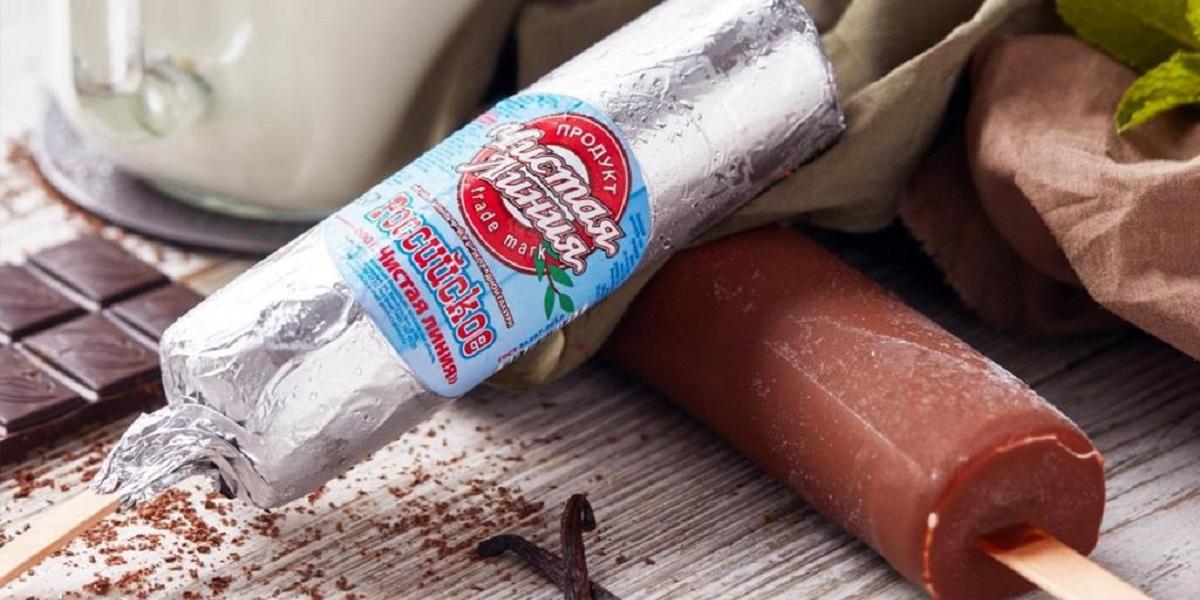 """обязательная маркировка, маркировка мороженого, """"Чистая линия"""""""