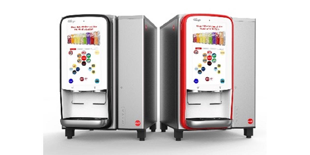 Coca-Cola, Freestyle, диспенсер, дозатор напитков