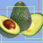Авокадо, разрез, анализ