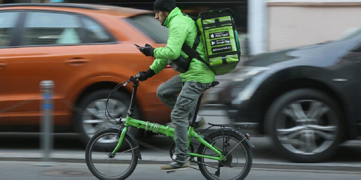 Delivery Club, велопатруль, доставка, продукты питания