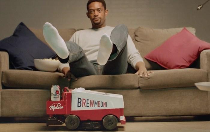 Molson, робот-пылесос, Brewmboni, пиво, Molson Canadian, Канада