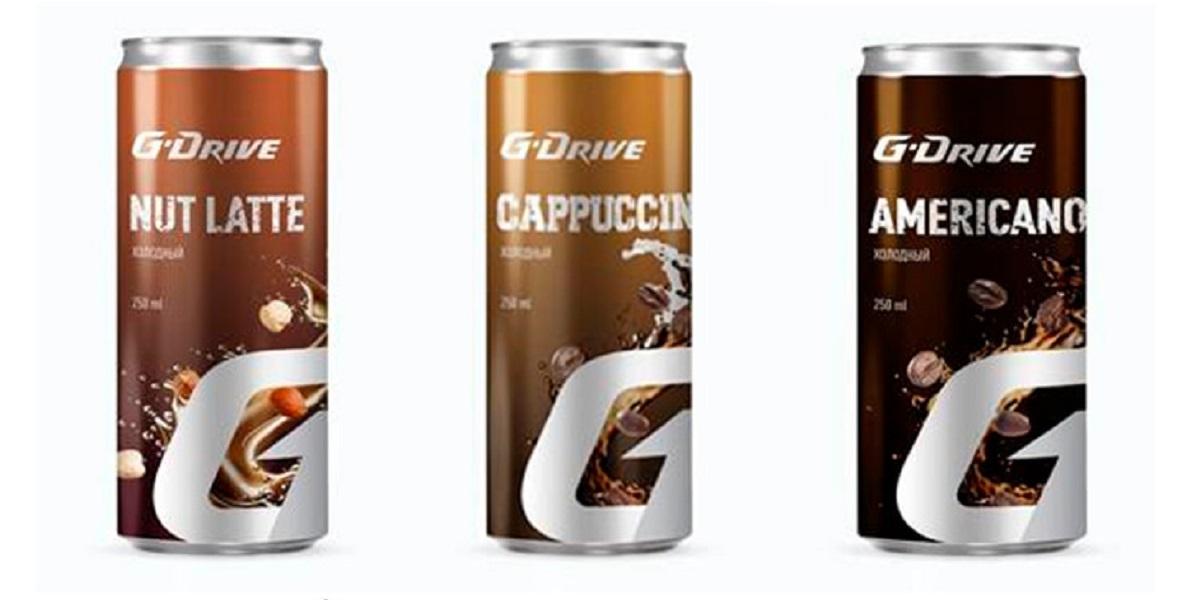 АЗС «Газпромнефть», холодный кофе