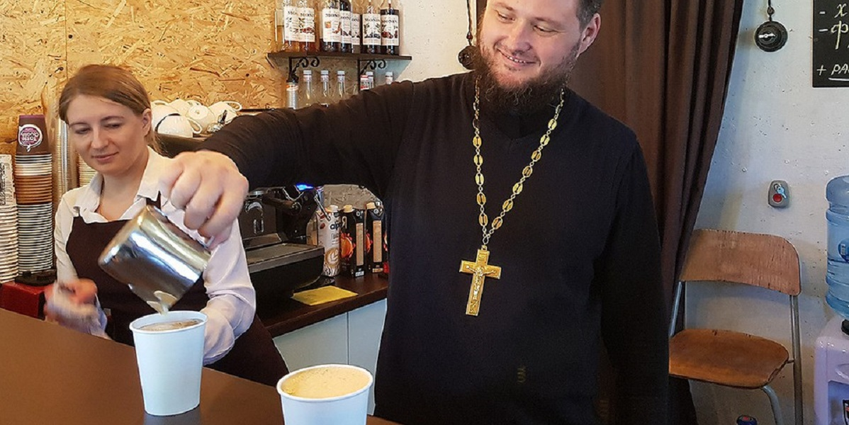 Кофейня, кофейня «Душевный разговор», кофейня при храме, храм Покрова Божией Матери