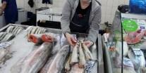 минтай в магазине, перевозка рыбы, снизить цены, высокие цены, цена рыбы