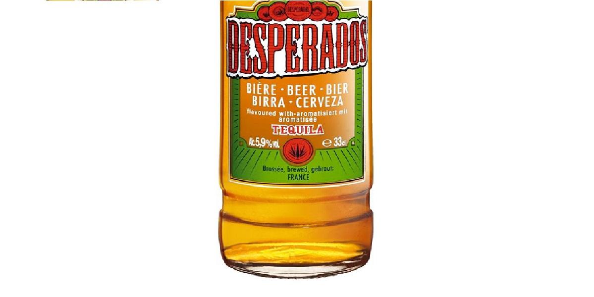 Desperados, пиво с текилой, не текила