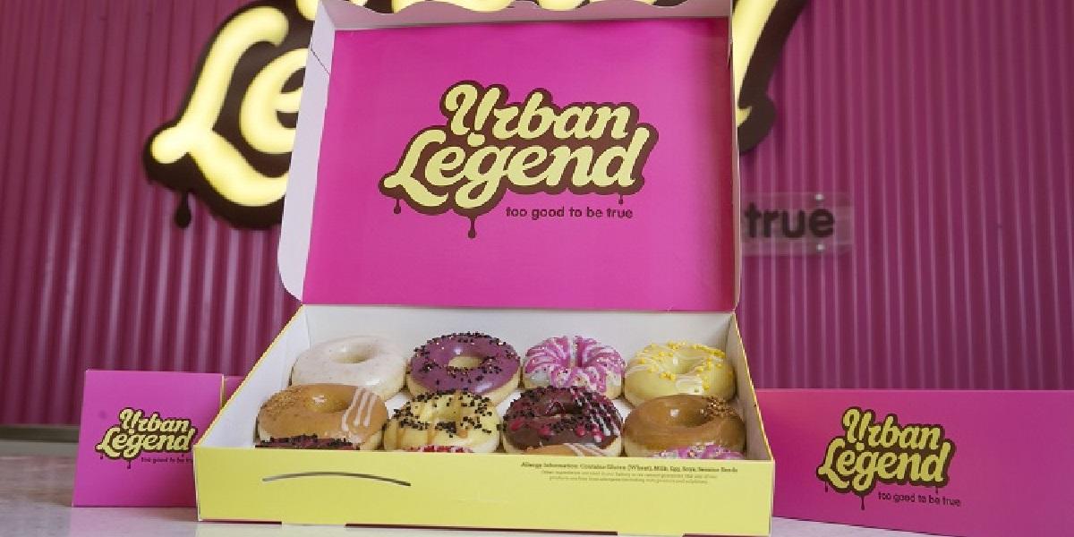 Пончики, коробка, логотип